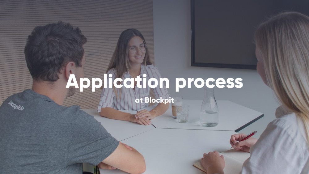 Application sent: Now what? This is how we proceed at Blockpit