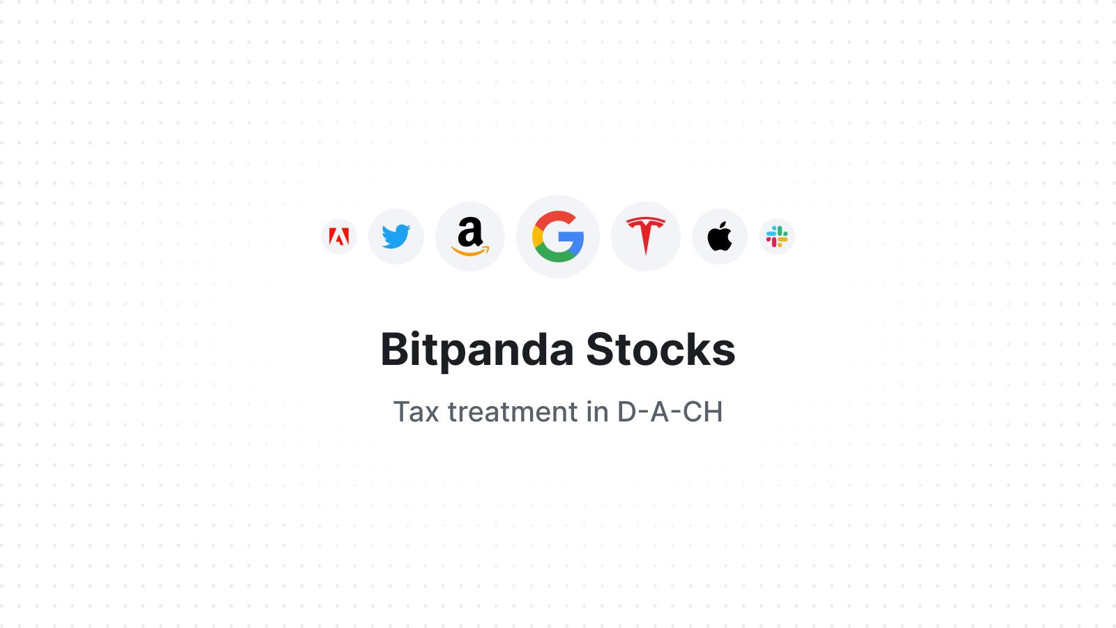 Tax treatment of Bitpanda Stocks