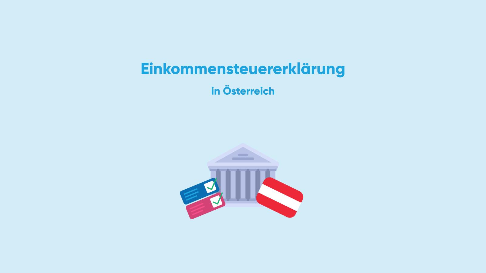 taxes tax declaration report austria 2019 2020 income