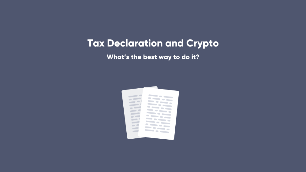 Cryptocurrencies in the tax declaration - what's the best way to do it?