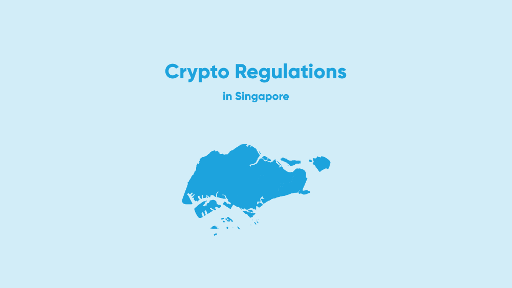 How are cryptocurrencies regulated in Singapore?
