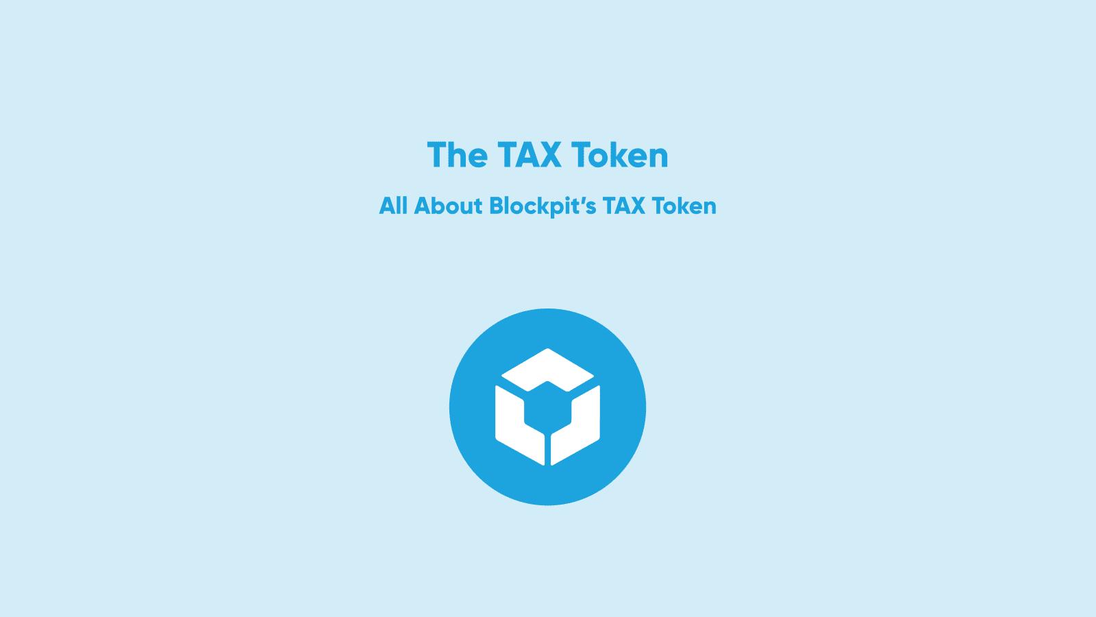 blockpit tax taxation sto token blockchain ethereum bitcoin crypto cryptocurrency