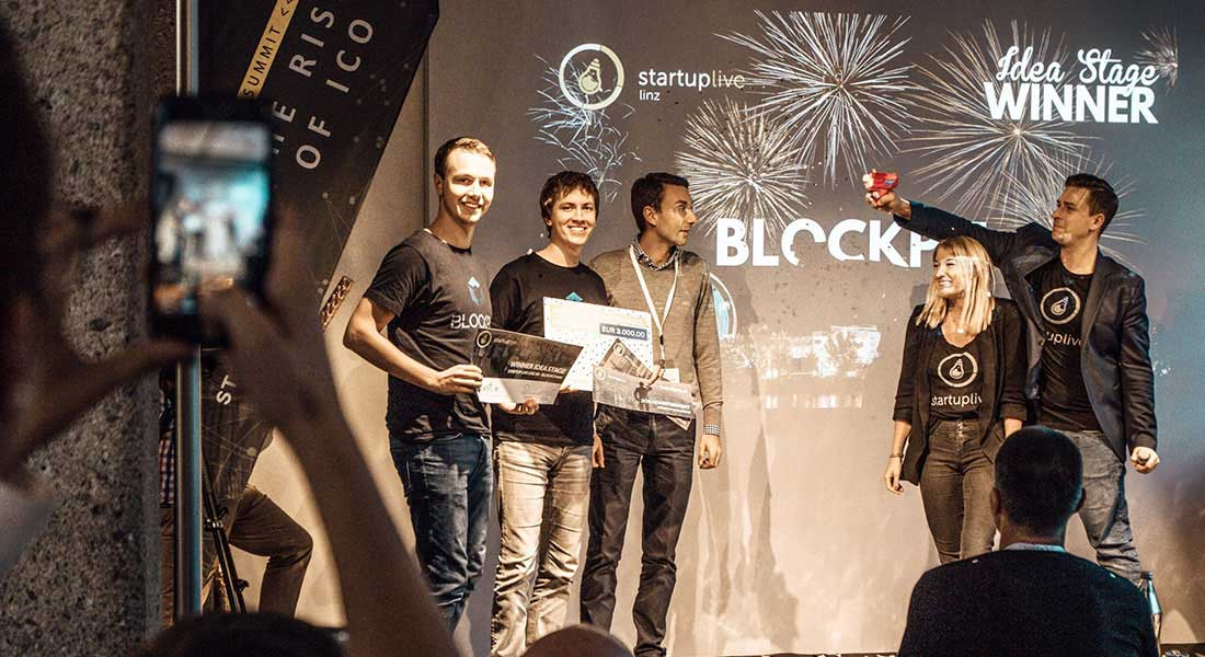 Blockpit wins Startup Live competition for best Idea Stage Startup