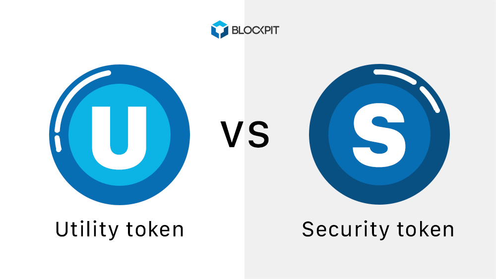 Utility Token vs. Security Token - Blockpit