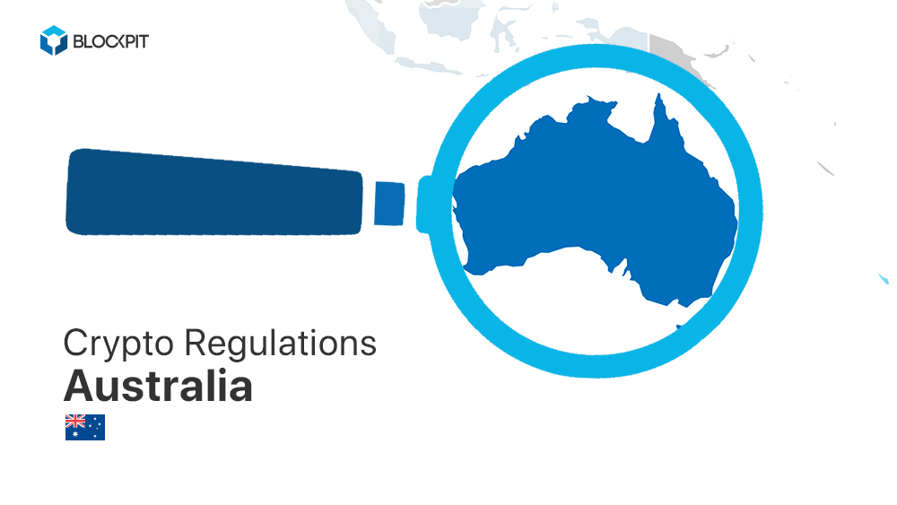 How are ICOs and cryptos taxed and regulated in Australia?
