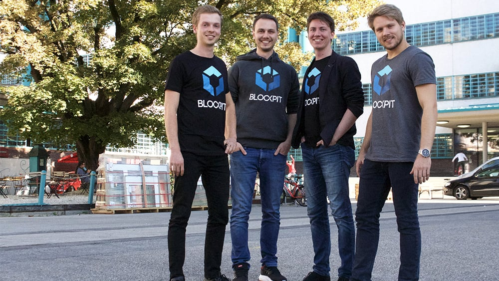 The experts behind Blockpit