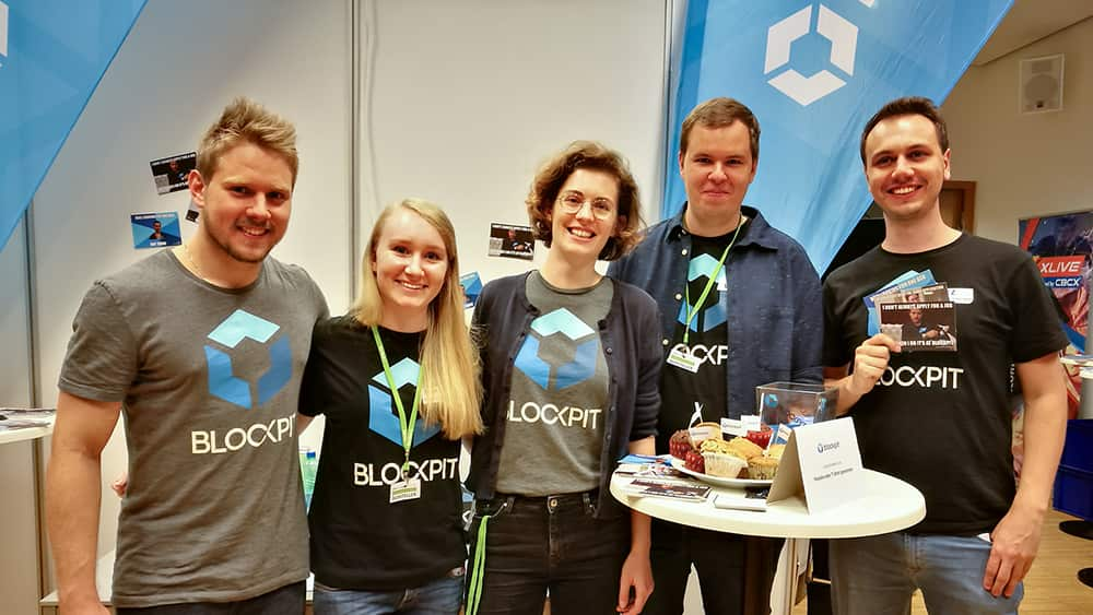 Blockpit at Austria's largest IT career fair