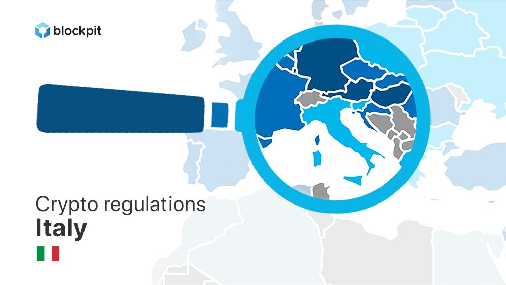 Crypto regulations in Italy - Blockpit