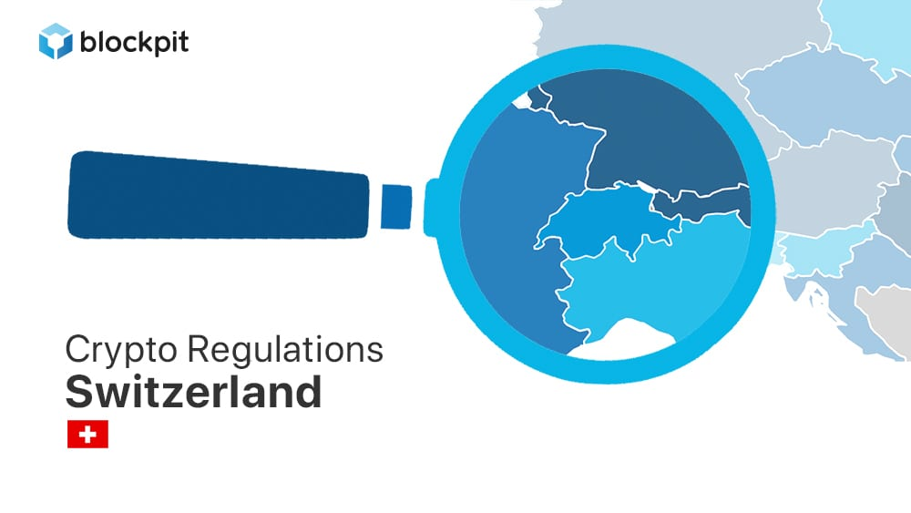How are cryptocurrencies regulated in Switzerland 🇨🇭