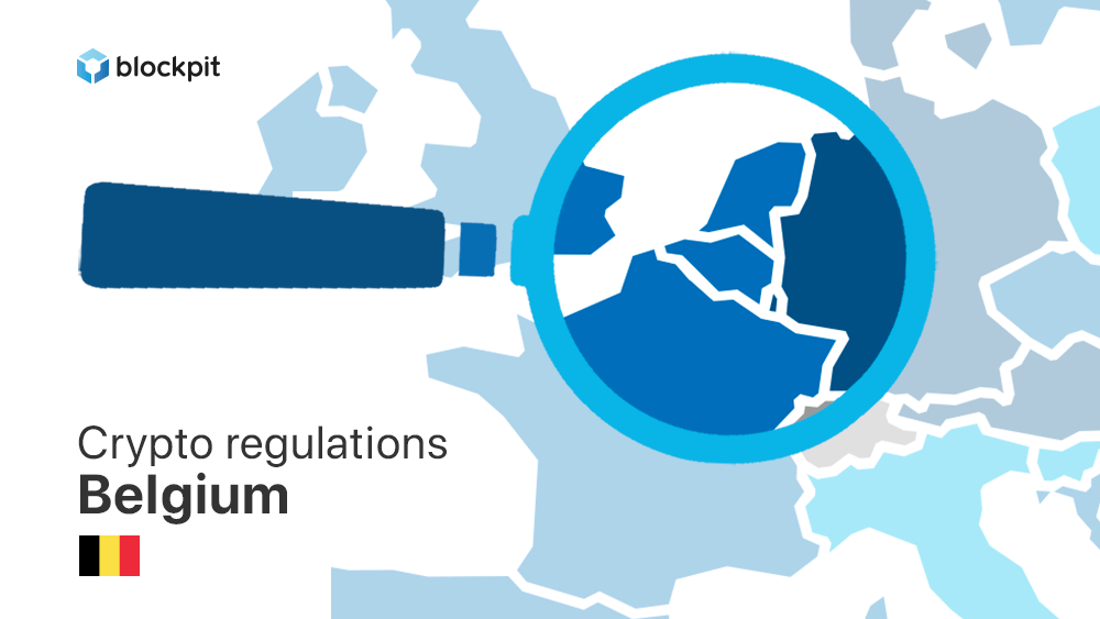 How are cryptocurrencies regulated in Belgium?