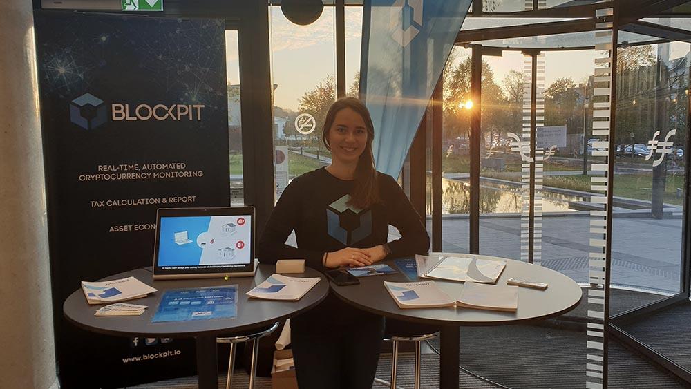 Blockpit auf der German Blockchain Week