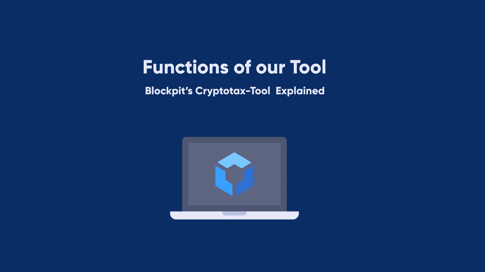 blockpit cryptocurrencies bitcoin ethereum taxation taxes