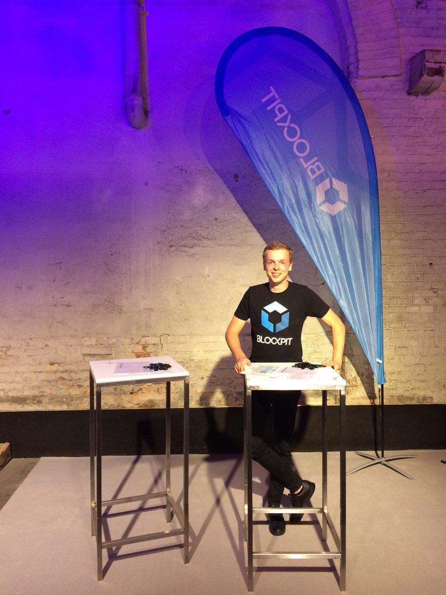 Blockpit-COO Cornelius Palm beim IKT-Konvent 2018 in Wien