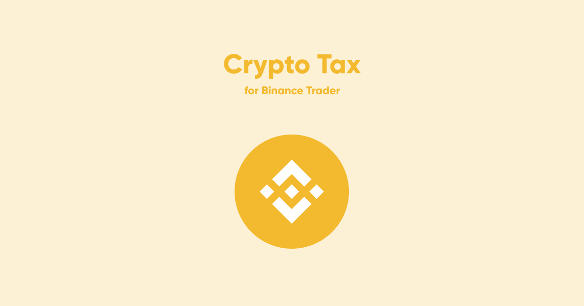 binance cryptocurrency taxes